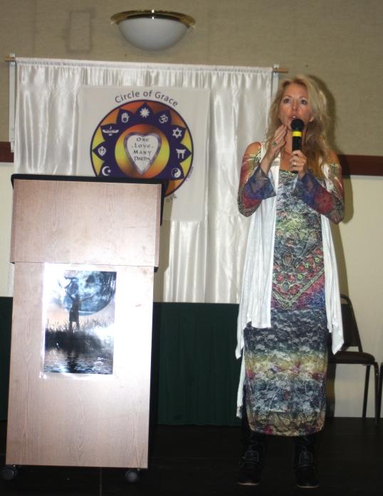 Laura at Women's Symposium 2013